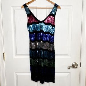 Frederick's Of Hollywood Sequin Bodycon Dress